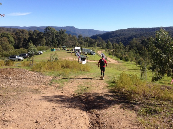 Coming into Checkpoint 2 at 31km